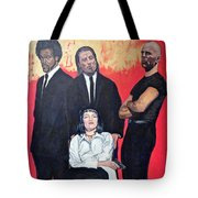 I Don't Smile For Pictures Tote Bag by Tom Roderick