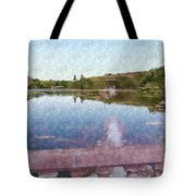 I Dreamed Of A Lake Tote Bag