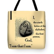 I Tote Bag by Eikoni Images