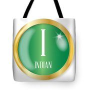 I For Indian Tote Bag