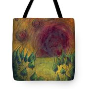 I Go There  Tote Bag