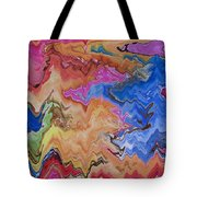 I Have My Head In The Clouds Tote Bag