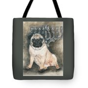 Gonna Wait Here Tote Bag