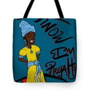 I Know Im Royalty Girl Tote Bag