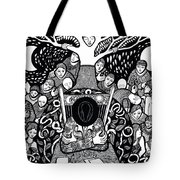 I Know Not What Nature Is I Sing It Tote Bag