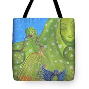 I Know Why The Caged Bird Sings Pro Tote Bag