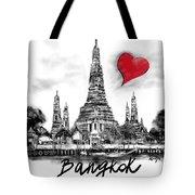 I Love Bangkok Tote Bag