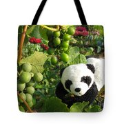 I Love Grapes B Tote Bag