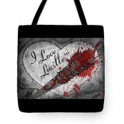 I Love Lucille Tote Bag