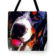 I Love Mountain Dogs Tote Bag