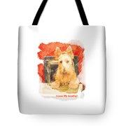 I Love My Scottie Tote Bag