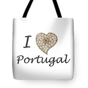 I Love Portugal Tote Bag