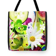 I Love Spring_with Border Tote Bag