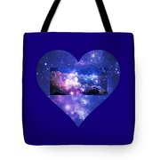 I Love The Night Sky Tote Bag
