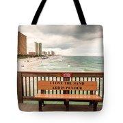 I Love The Sand Tote Bag