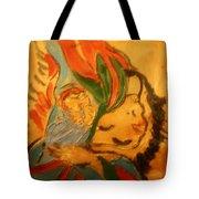 I Love You - Tile Tote Bag
