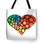 I Love You 14 - Heart Hearts Romantic Art Tote Bag