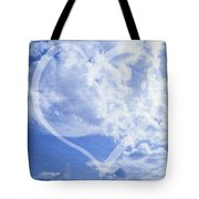 I Love You To The Clouds And Back Tote Bag