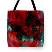 I Named You Rose Tote Bag