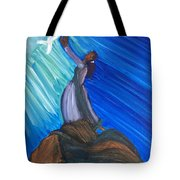 I Receive Your Holy Spirit  Tote Bag
