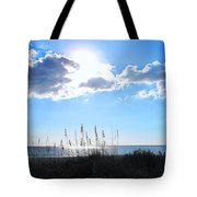 I Sat And Watched The Sun Go Down Tote Bag
