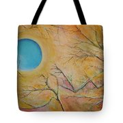 I Saw You Standing Alone Tote Bag