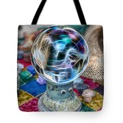 I See Painted Faces Tote Bag