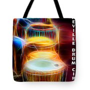 I Sing The Drums Electric Tote Bag