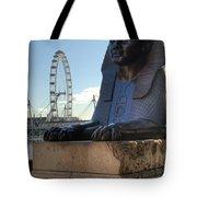 I Sphinx It Is The London Eye Tote Bag