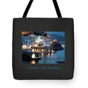 I Travel The World Amalfi Tote Bag