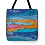 I Trusted - Psalm 116-10 Tote Bag