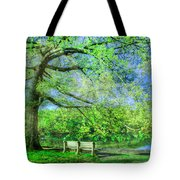 I Will Wait For You In Summer Tote Bag