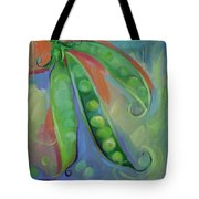 I Wish You Peas Tote Bag