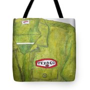 I Worked At Texaco Tote Bag
