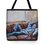 Ian And Foster Tote Bag