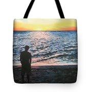 Ian's Sunset Tote Bag