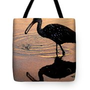 Ibis At Dusk Tote Bag