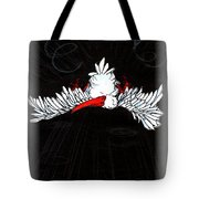 Ibis Down Tote Bag