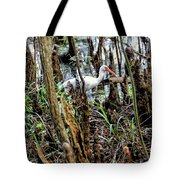 Ibis In The Swamp Tote Bag