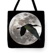 Ibis Moon Tote Bag