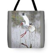 Ibis Soft Water Landing Tote Bag