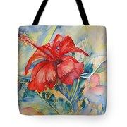 Ibiscus Tote Bag