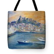 Ibiza Old Town Marina And Port Tote Bag