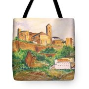 Ibiza Old Town Unesco Site Tote Bag