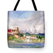 Ibiza Panoramic 02 Tote Bag