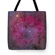Ic 1396 And Garnet Star In Cepheus Tote Bag