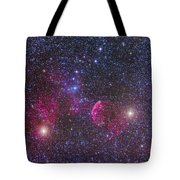 Ic 443 Supernova Remnant In Gemini Tote Bag