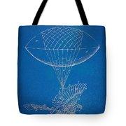 Icarus Airborn Patent Artwork Tote Bag