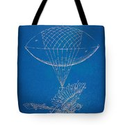 Icarus Airborn Patent Artwork Tote Bag by Nikki Marie Smith