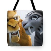 Ice Age Continental Drift Tote Bag
